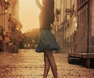 girl, dance, and street image
