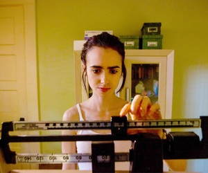 lily collins and to the bone image