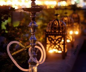 shisha and night image