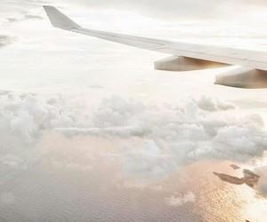 airplane and sky image