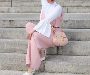 bag, cool, and hijab image