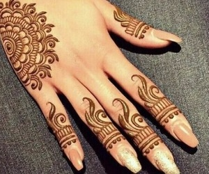 henna and mendhi image