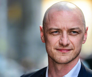 actor, bald head, and blue eyes image
