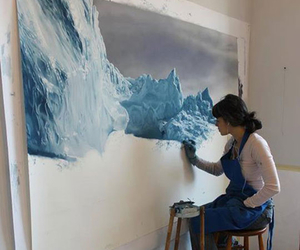 art, painting, and realistic image