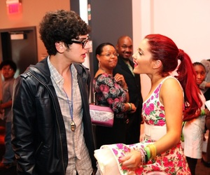 ariana grande, matt bennett, and actress image