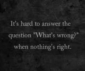 quotes, sad, and wrong image