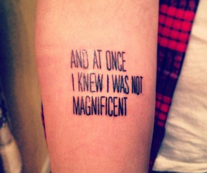 bon iver, Lyrics, and tatoo image