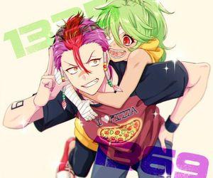 nanbaka, anime, and anime boy image