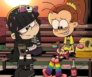 bisexual, love is love, and lesbian pride image