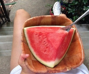 converse, watermelon, and food image
