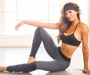 fitness, healthy, and leggings image