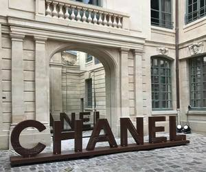 building, chanel, and design image