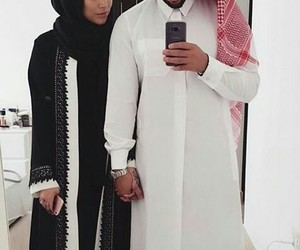 arabic, couple, and style image