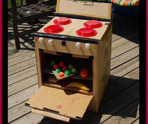 crafts, diy toys, and diy play oven image