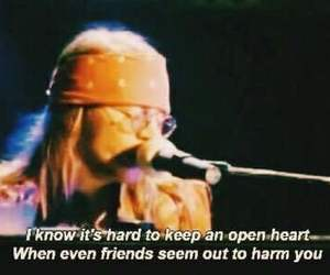 axl rose, text, and open heart image