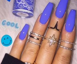 fashion, glossy, and nails image