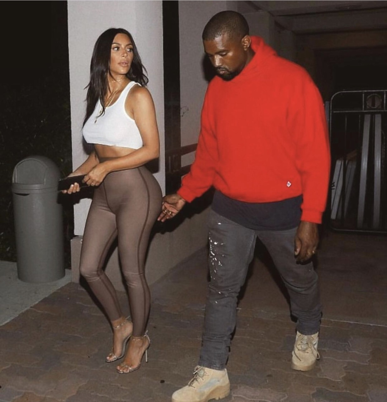 couple, goals, and outfit image