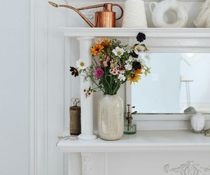flowers, rustic, and vintage image