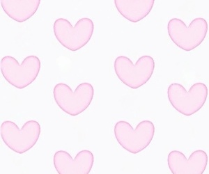 hearts, patterns, and pink image