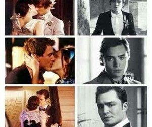chair, ed westwick, and gossip girl image