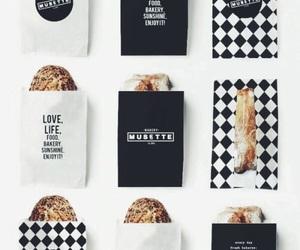 black and food image
