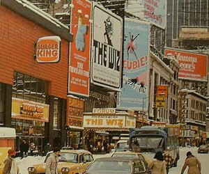 art, new york, and vintage image