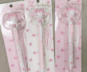 kawaii, pen, and pink image