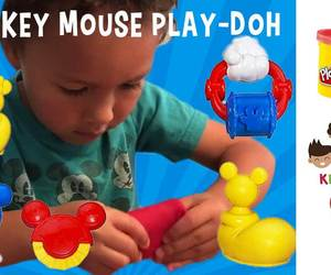 mickey mouse, video for kids, and play-doh image