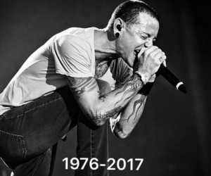 linkin park, rip, and chester bennington image