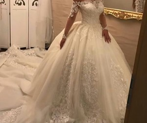 Dream, wedding, and woman image