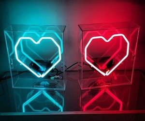 neon, blue, and red image