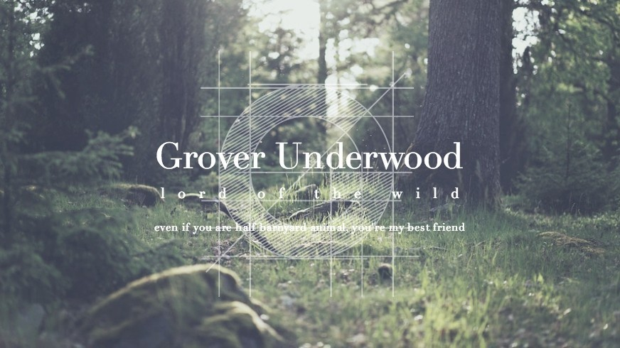 Grover Underwood Discovered By Andiebaxx On We Heart It