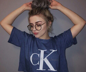 girl, Calvin Klein, and tumblr image