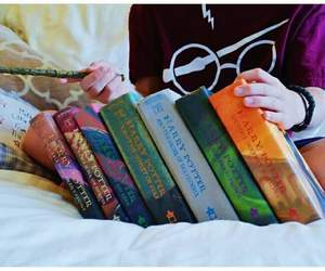 books, harry potter, and libros image