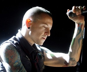 chester, suicide, and sad image
