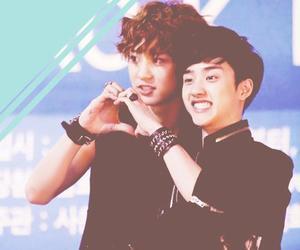 couple, exo, and kyungsoo image