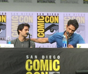 teen wolf, dylan o'brien, and teen wolf panel image