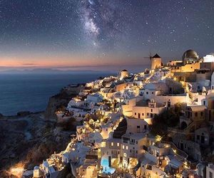 Greece, stars, and travel image