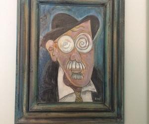 art, caricature, and literature image