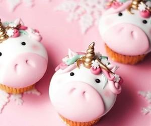 comida, dulce, and cupcakes image