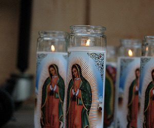 aesthetic, candles, and mexican image