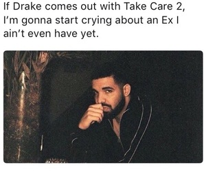 curls, Drake, and ex image