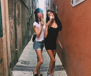 brunettes, makeupbymandy24, and insta baddies image