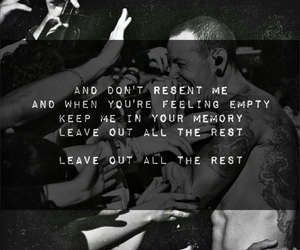 chester, rip, and linkin park image