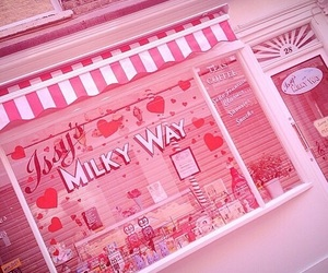 pink, cute, and shop image