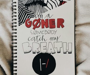 twenty one pilots, drawing, and goner image