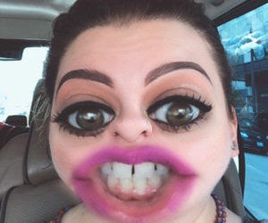 eyebrows, funny, and eyes image