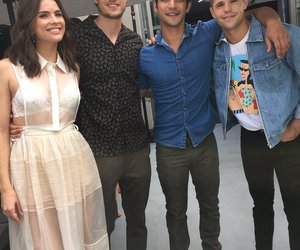 tyler posey, teenwolf, and charlie carver image