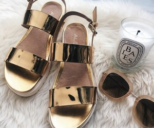 fashion, sandals, and shades image