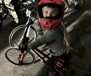 blonde, family, and bmx image